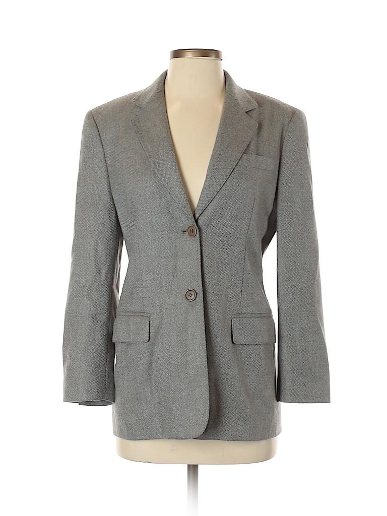 Max Mara Women Wool Blazer Size 38 (IT)