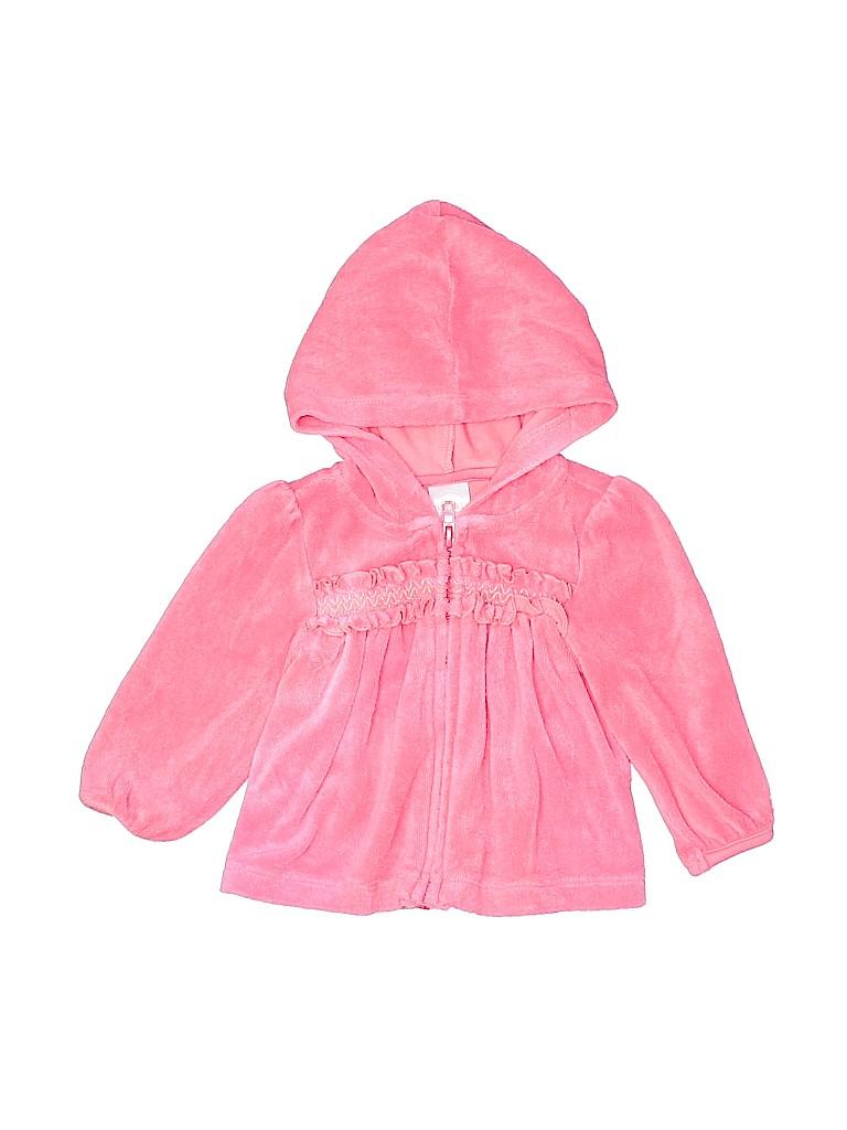 Gymboree Girls Zip Up Hoodie Size 6-12 mo
