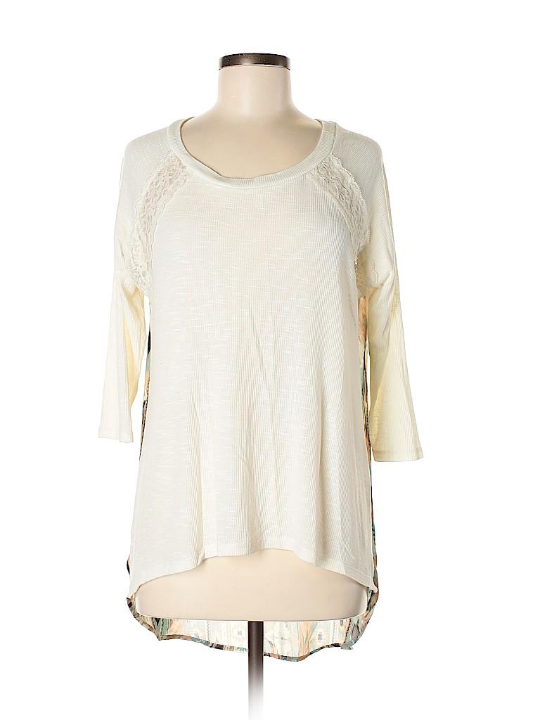 Rue21 Women 3/4 Sleeve Top Size M
