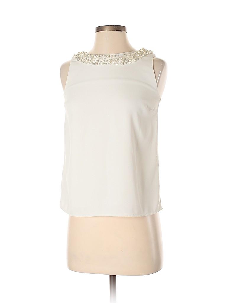 Ann Taylor Women Sleeveless Blouse Size XXS