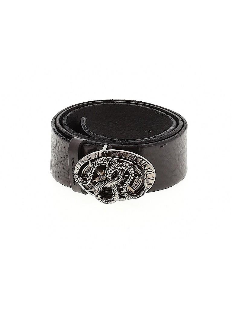 Roberto Cavalli Women Leather Belt Size 52