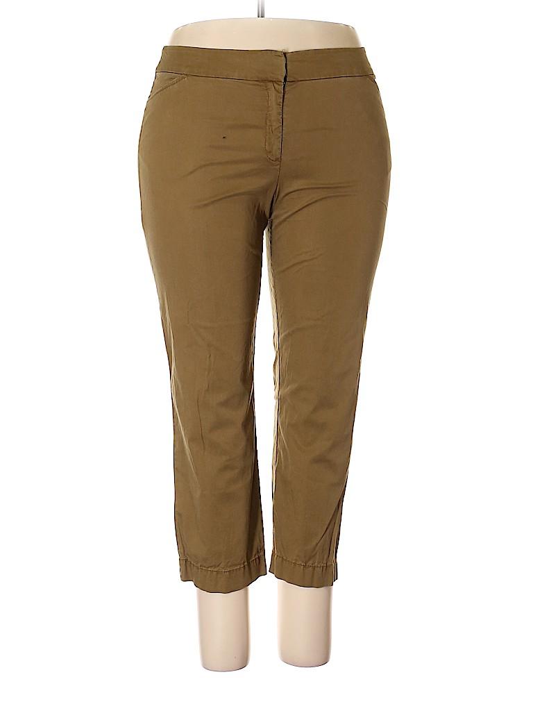Eileen Fisher Women Khakis Size 16