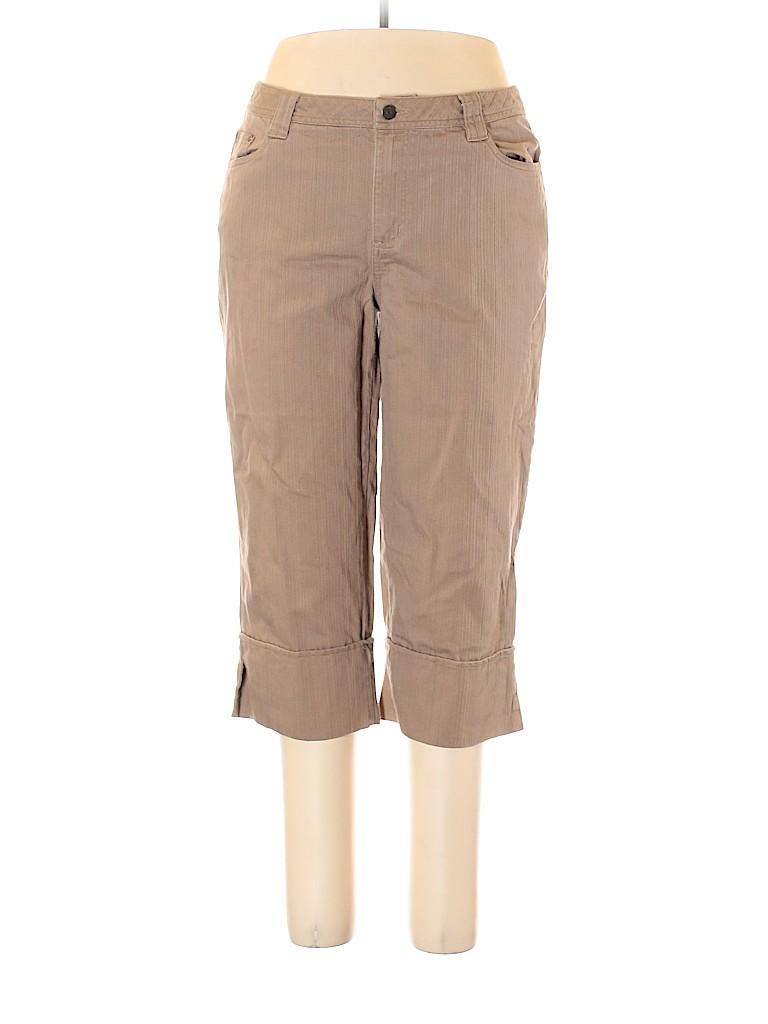 Relativity Women Khakis Size 16