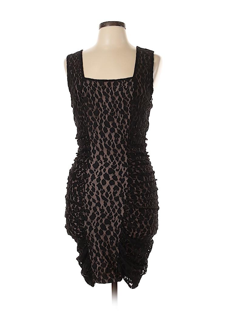 BCBGMAXAZRIA Women Casual Dress Size L