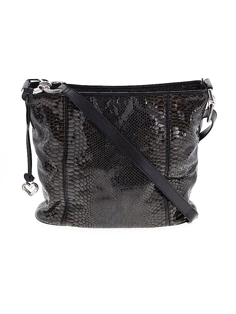 Brighton Women Leather Crossbody Bag One Size
