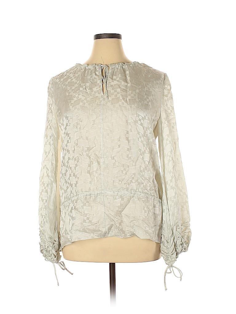 Armani Collezioni Women Long Sleeve Blouse Size 14