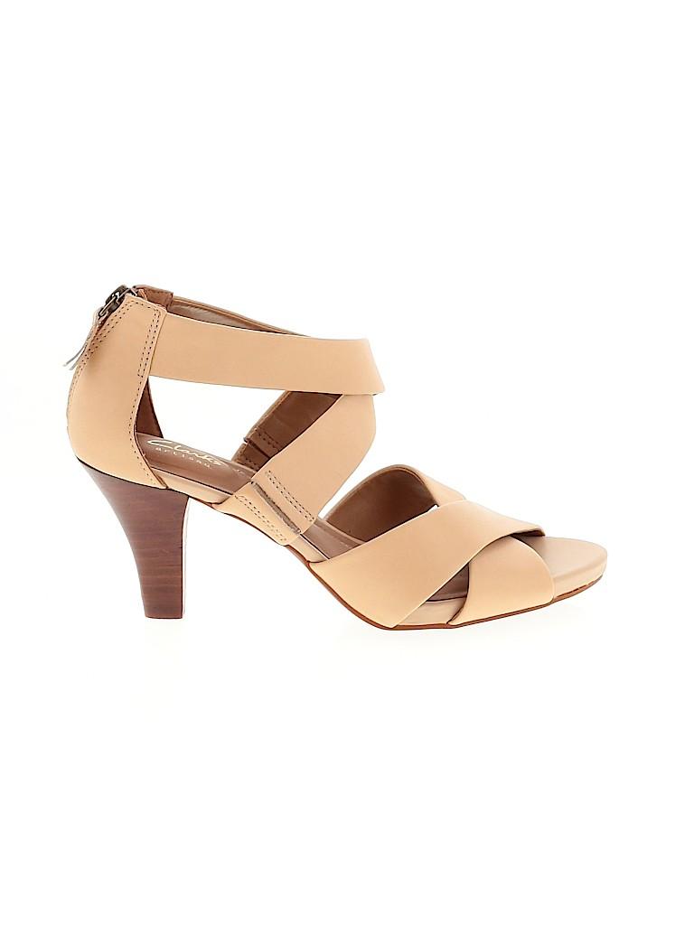 Clarks Women Heels Size 5 1/2