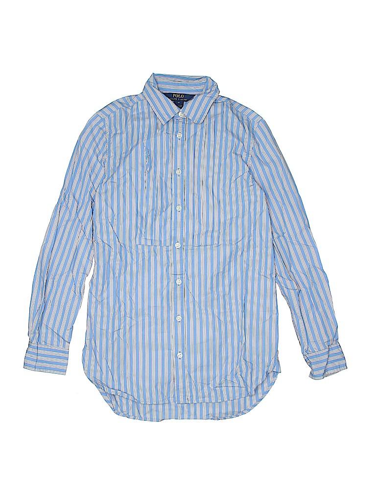 Polo by Ralph Lauren Boys Long Sleeve Button-Down Shirt Size 12