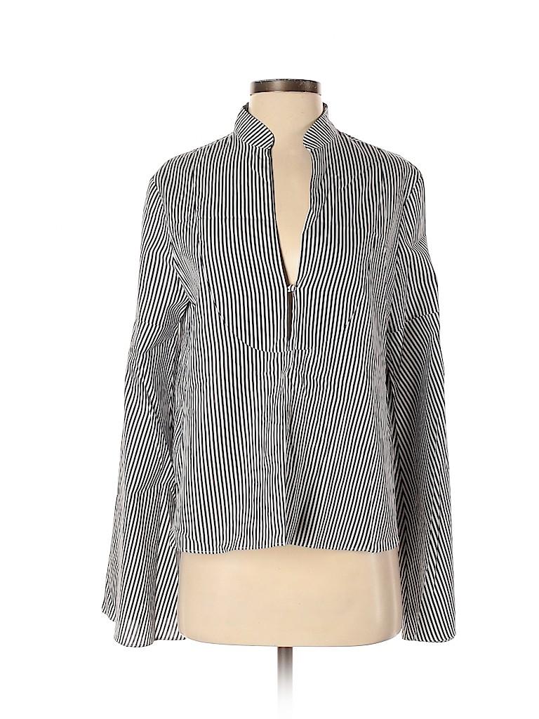 Tanya Taylor Women Long Sleeve Button-Down Shirt Size 4