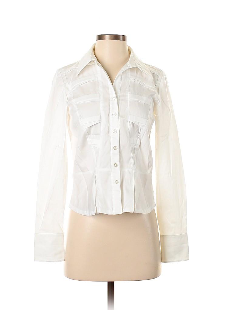 Coldwater Creek Women Long Sleeve Button-Down Shirt Size XS