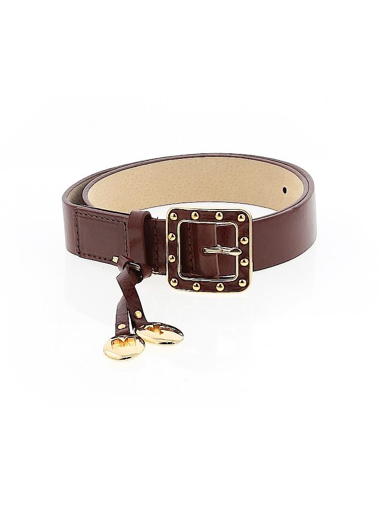 MICHAEL Michael Kors Women Leather Belt Size S