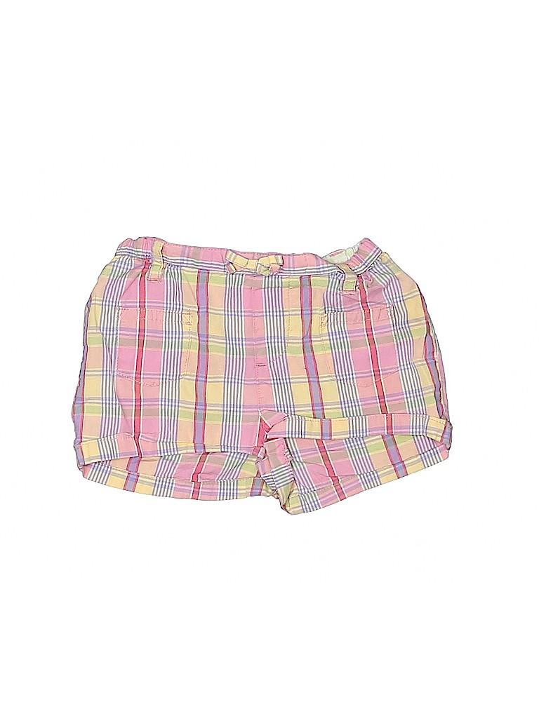 Lands' End Girls Khaki Shorts Size 12 mo