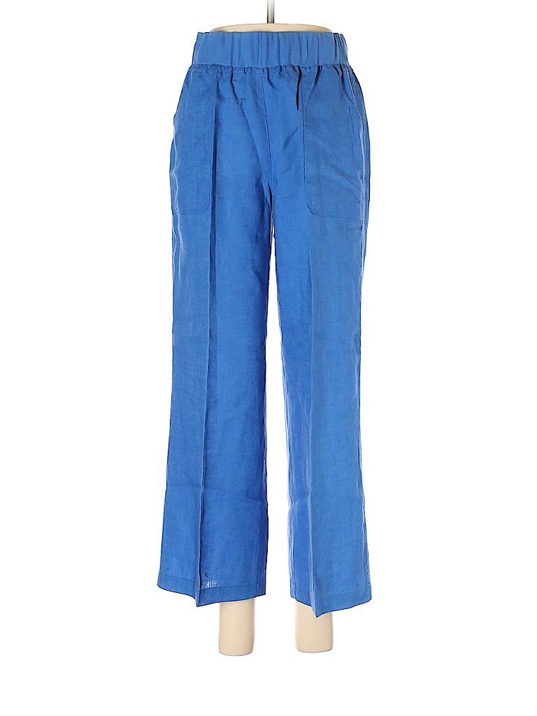 MULTIPLES Women Linen Pants Size 6