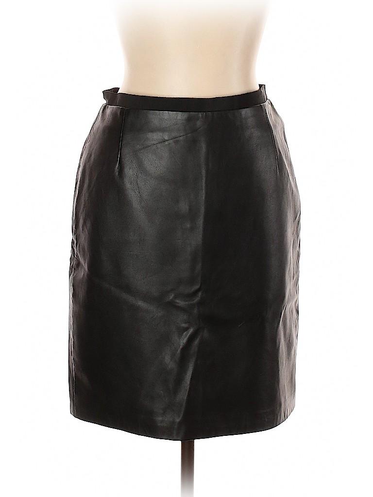 Zara Women Leather Skirt Size L