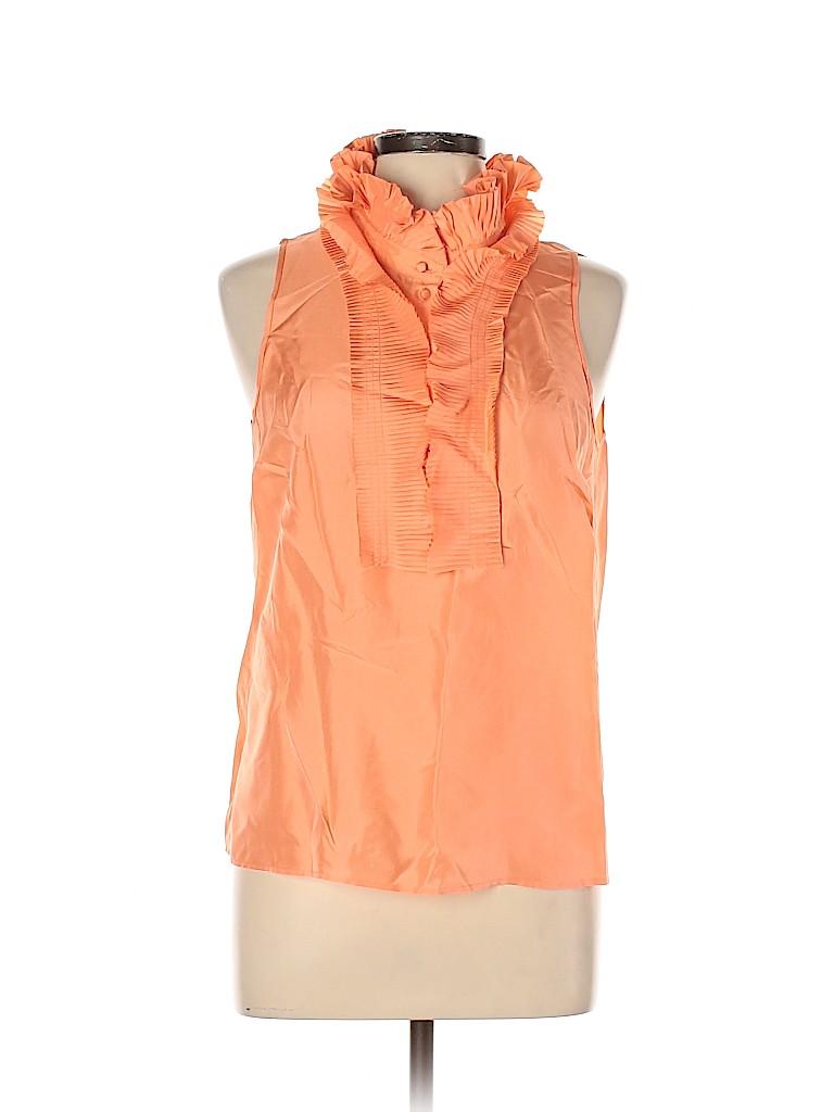 J. Crew Women Sleeveless Silk Top Size 10