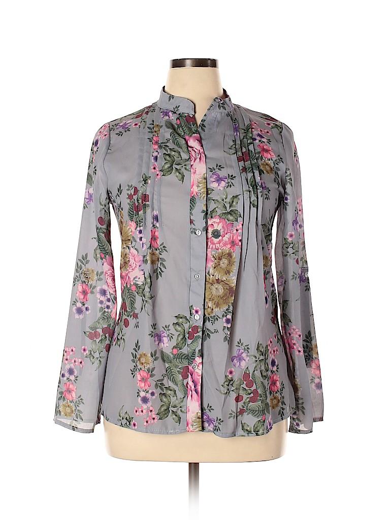 Assorted Brands Women Long Sleeve Blouse Size 2X (Plus)