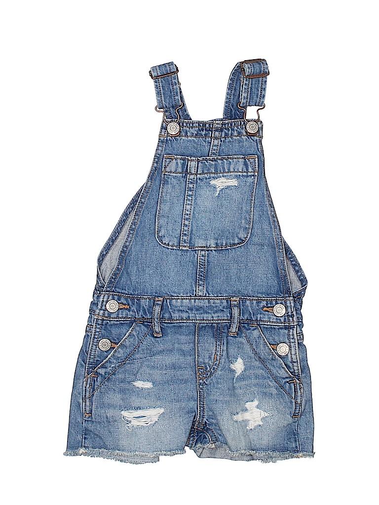 Gap Kids Girls Overall Shorts Size X-Small (Kids)