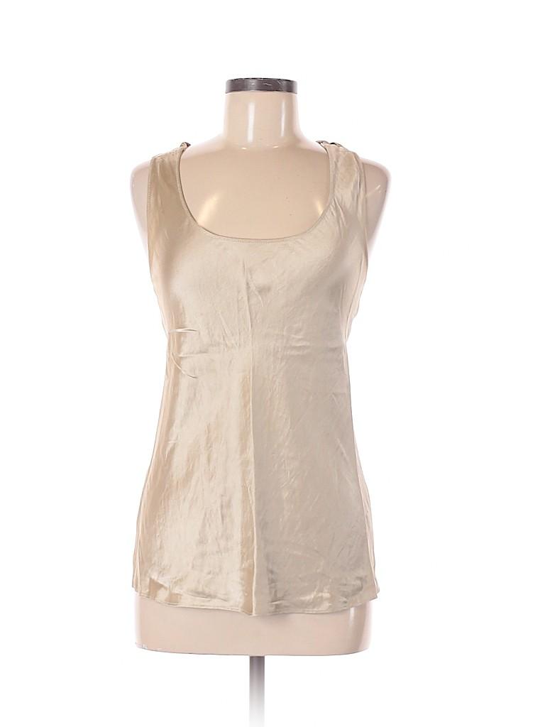 Banana Republic Women Sleeveless Silk Top Size S
