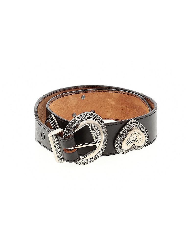 Assorted Brands Women Leather Belt Size 34 (EU)
