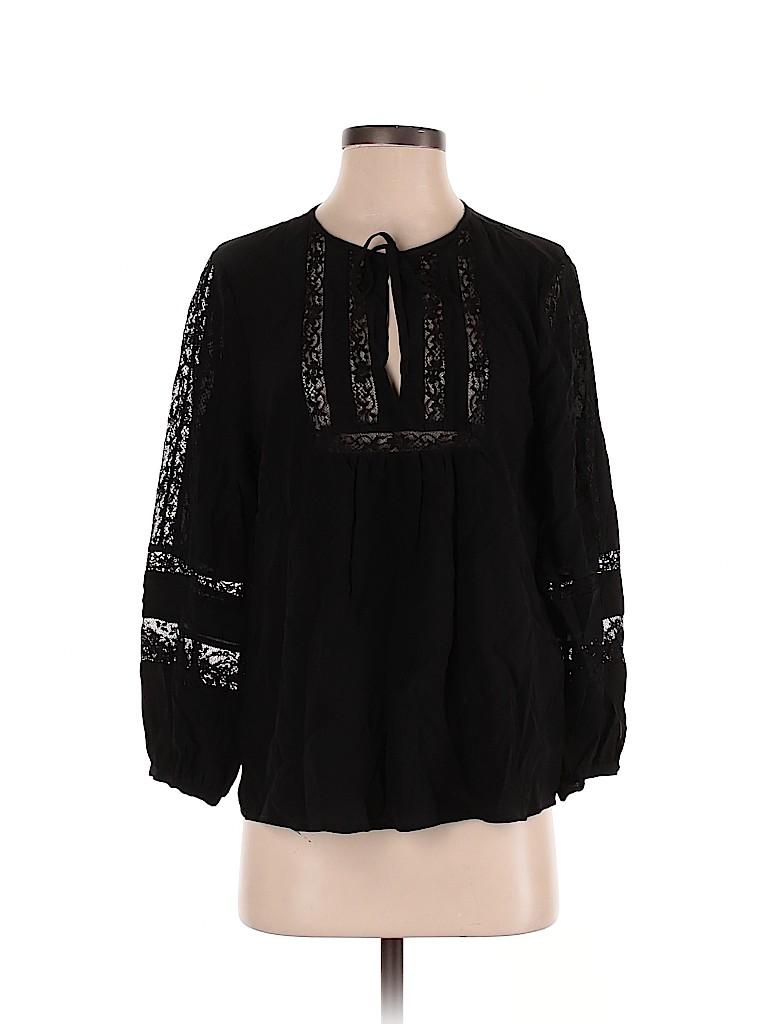 Joie Women Long Sleeve Silk Top Size XS