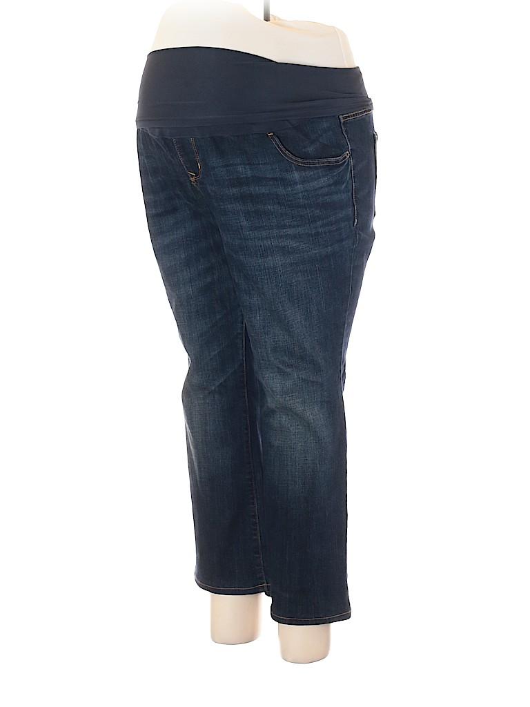 Old Navy - Maternity Women Jeans Size 16 Maternity SHORT (Maternity)