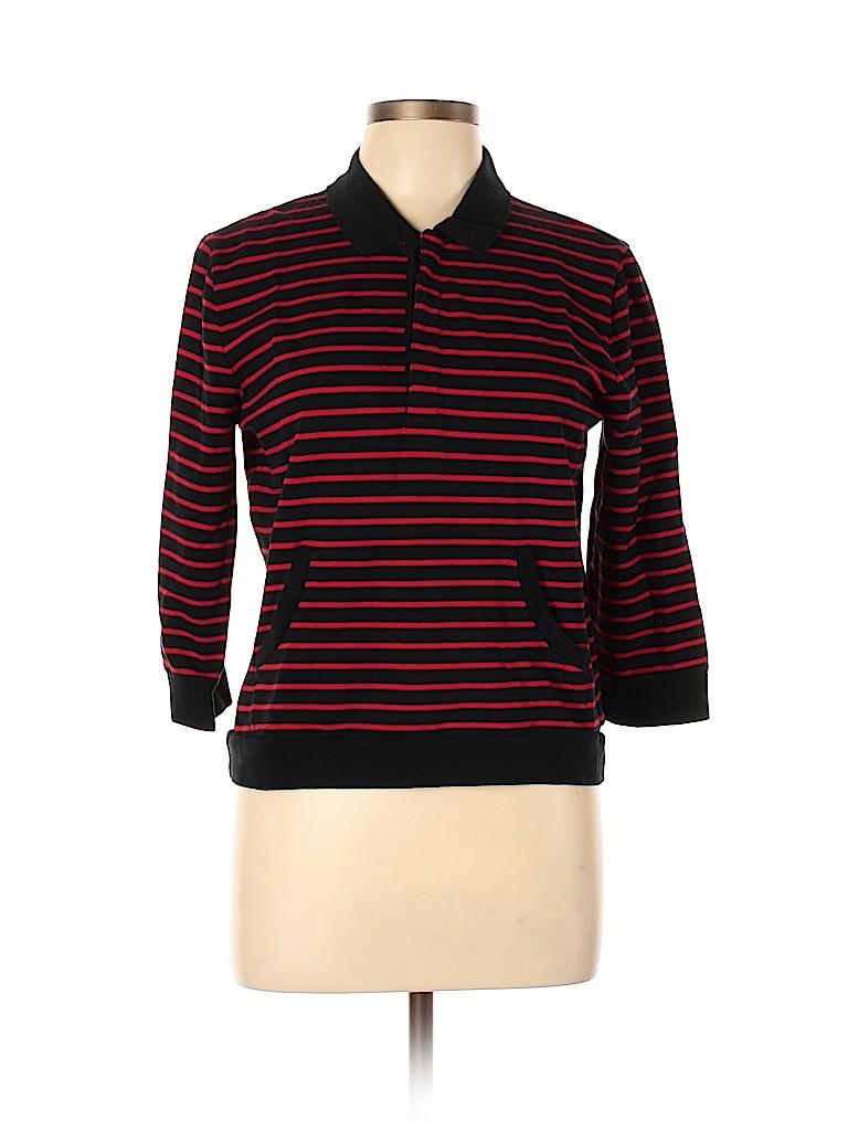 Lauren Active by Ralph Lauren Women 3/4 Sleeve Polo Size L