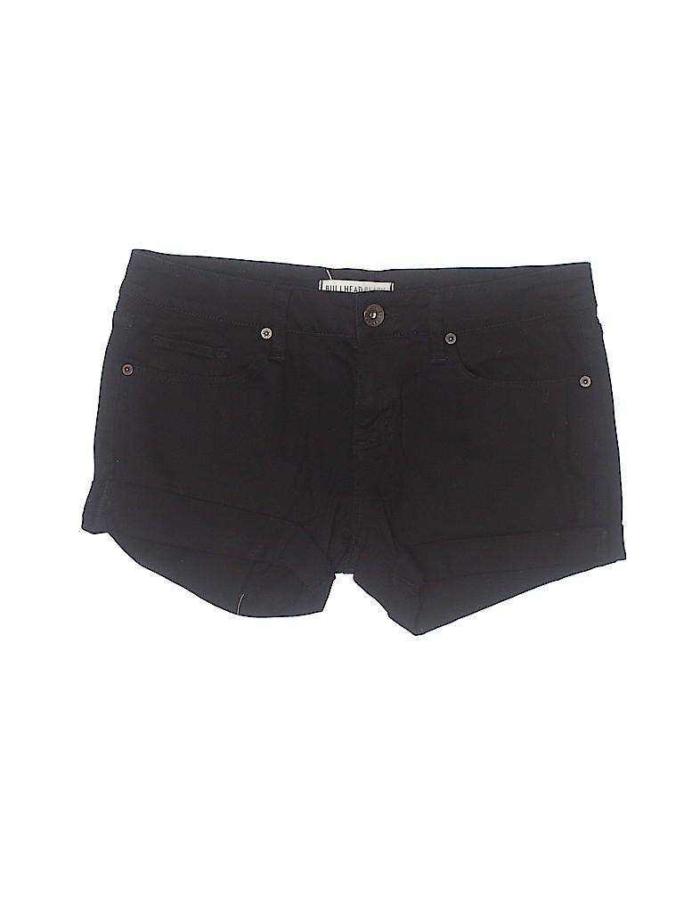 Bullhead Black Women Denim Shorts Size 6