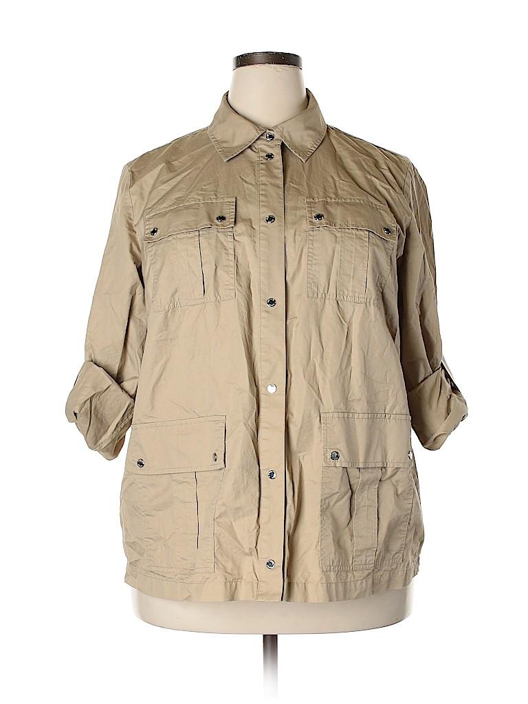 MICHAEL Michael Kors Women Jacket Size 18 (Plus)