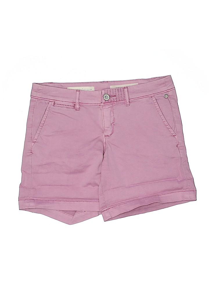 Pilcro and The Letterpress Women Khaki Shorts 26 Waist