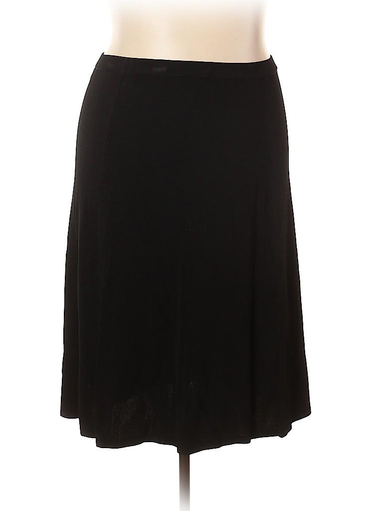 Jones New York Collection Women Casual Skirt Size 2X (Plus)