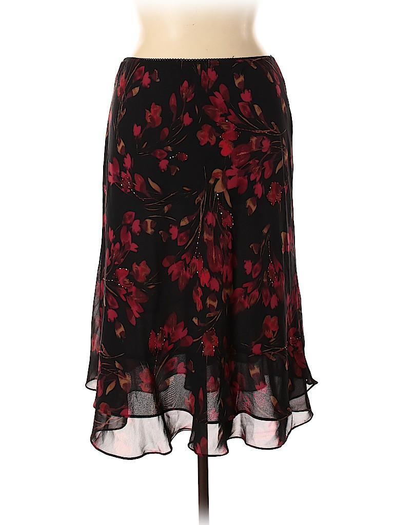 JM Collection Women Casual Skirt Size 16 (Petite)