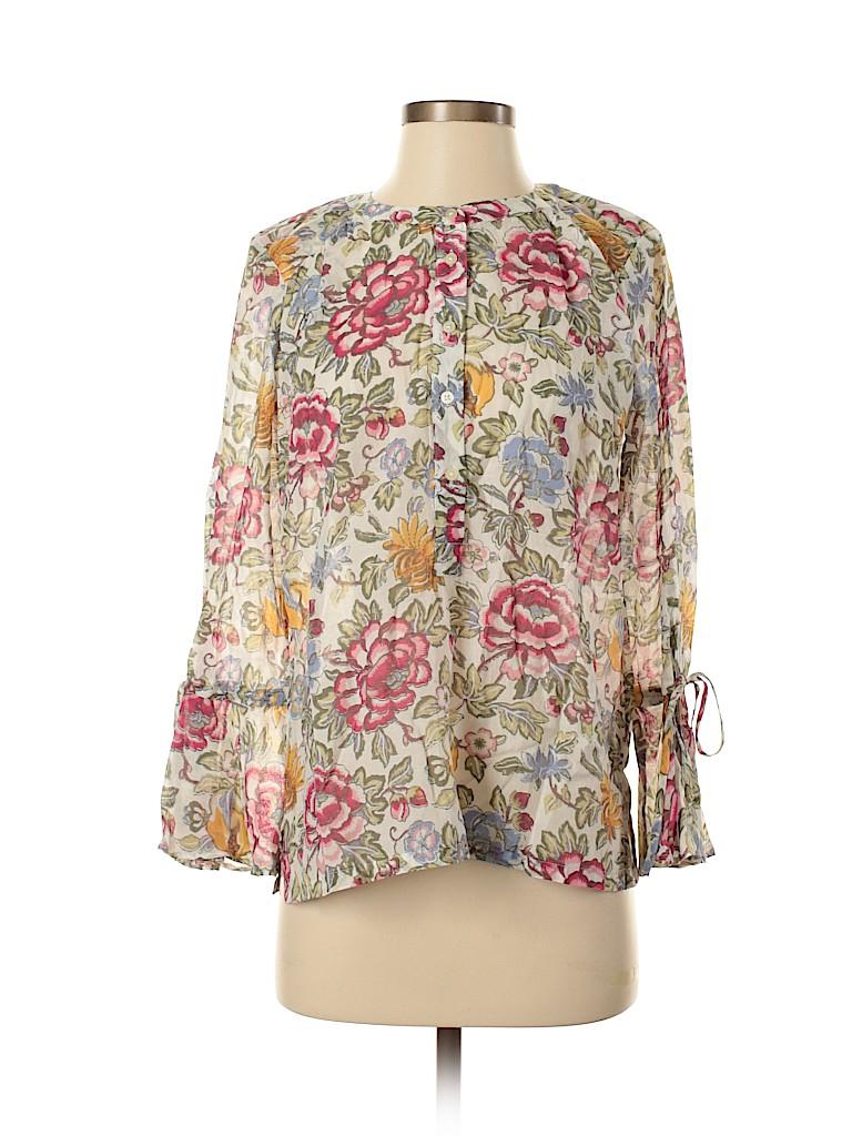 Ann Taylor LOFT Women Long Sleeve Button-Down Shirt Size XS