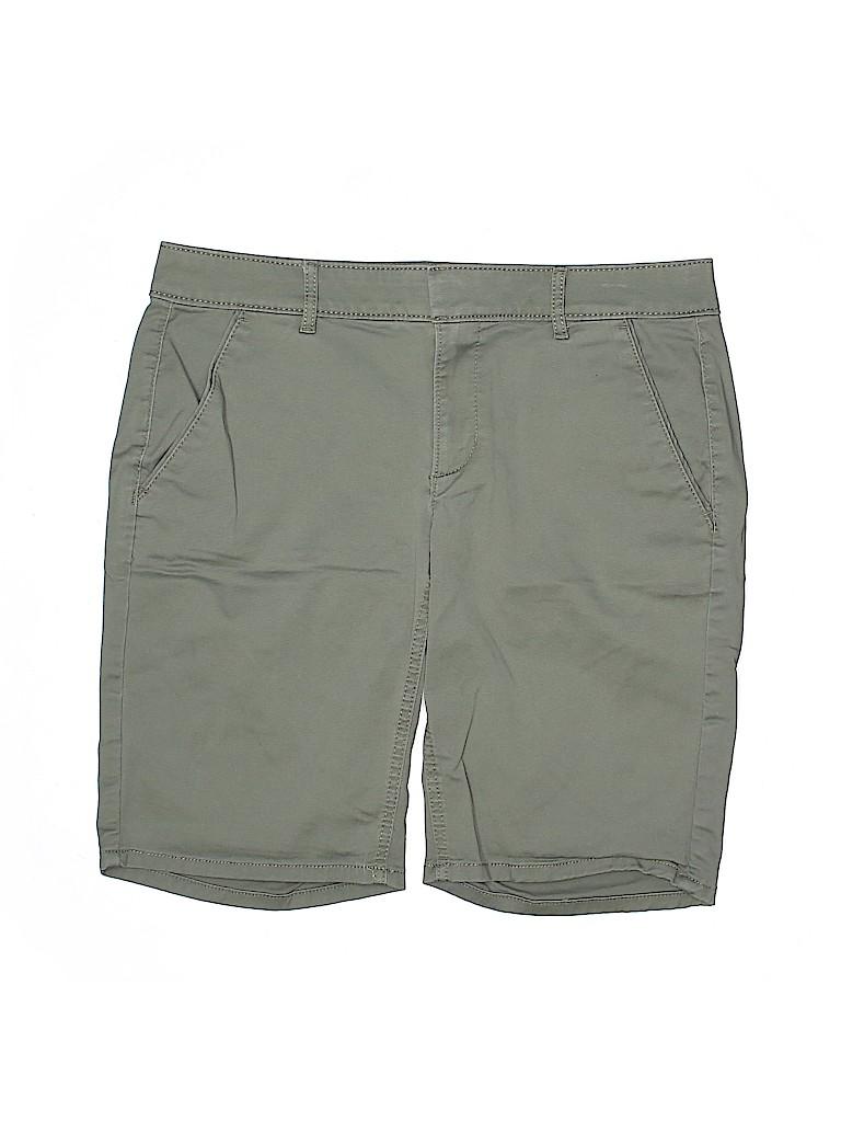 Ann Taylor LOFT Women Khaki Shorts Size 6