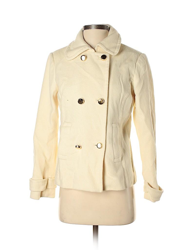 Lilly Pulitzer Women Wool Coat Size 4