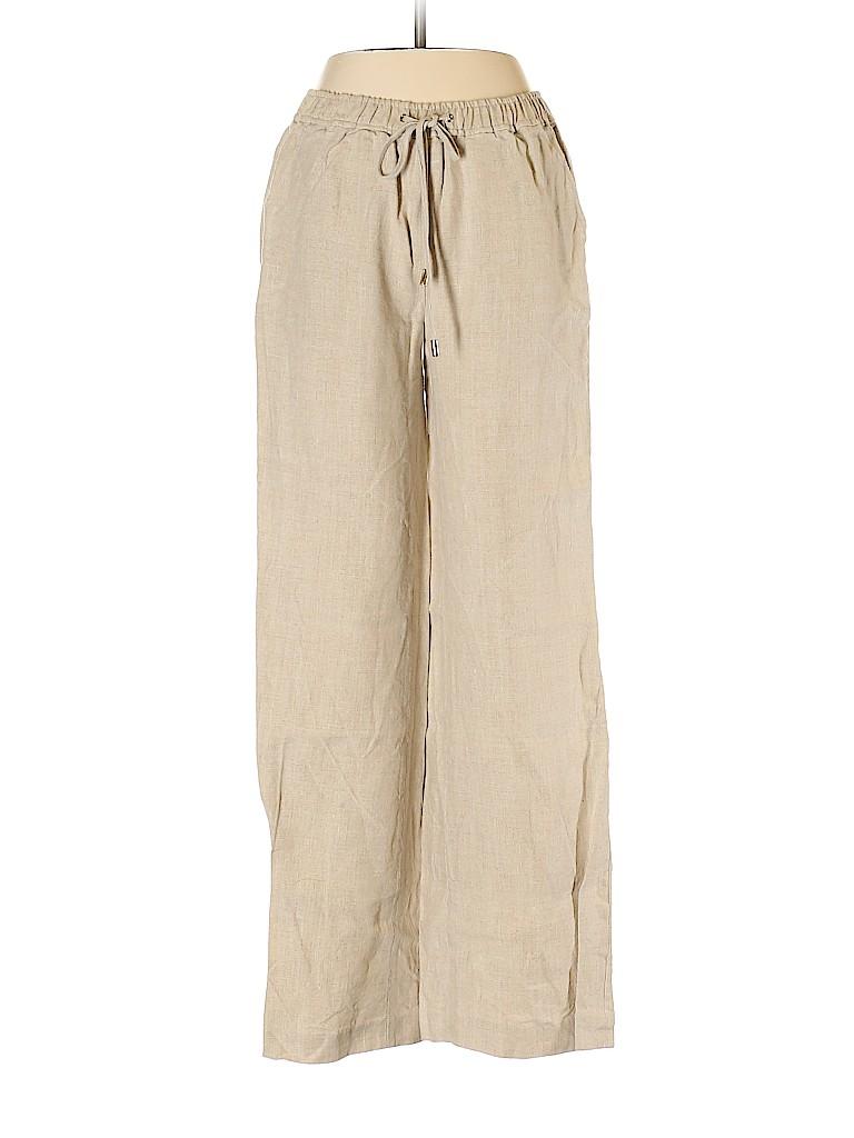 MICHAEL Michael Kors Women Linen Pants Size 2