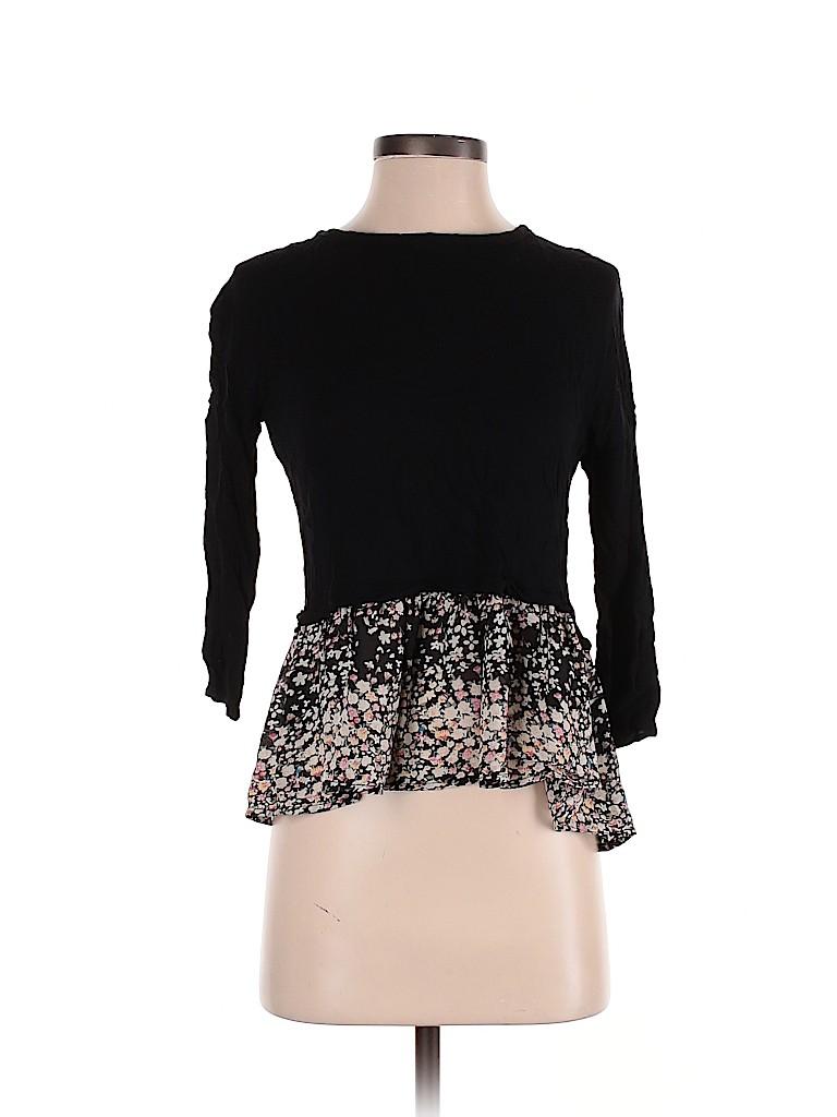 Elodie Women Long Sleeve Blouse Size S