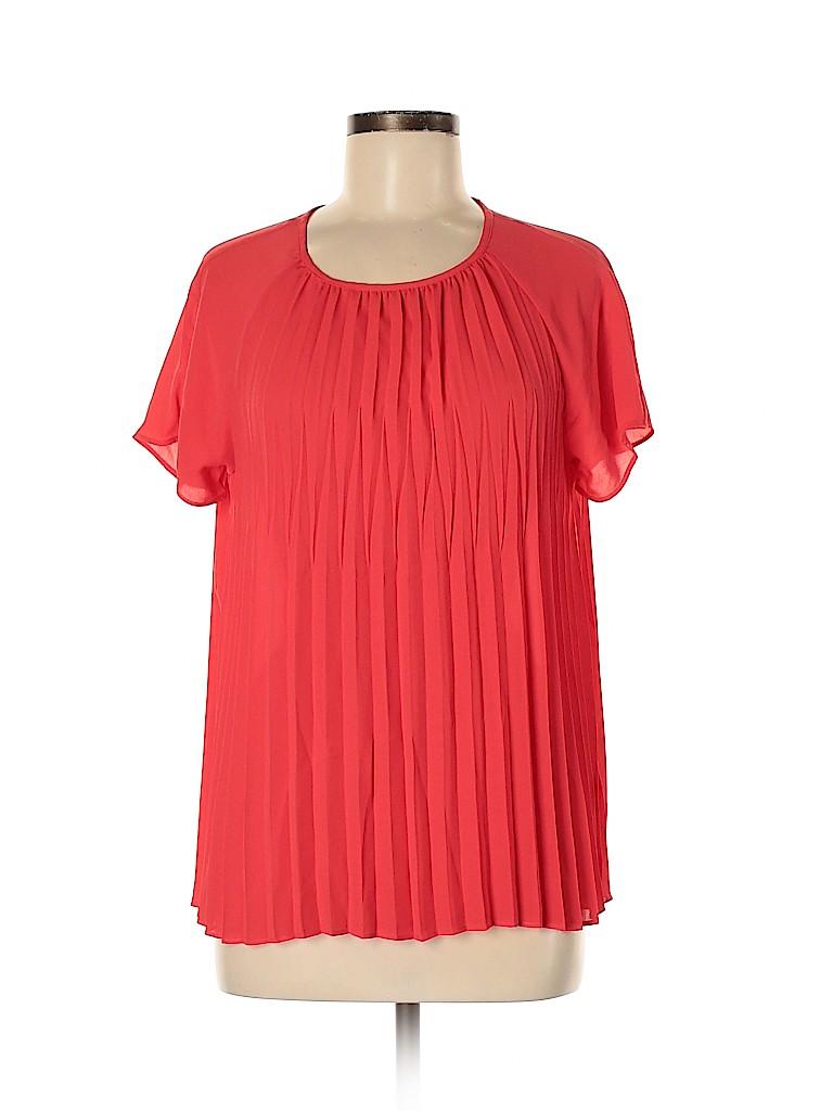 MICHAEL Michael Kors Women Short Sleeve Blouse Size 8
