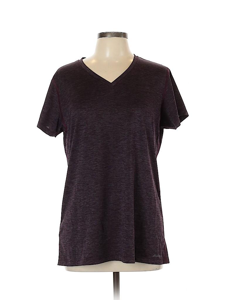 Eddie Bauer Women Active T-Shirt Size XL