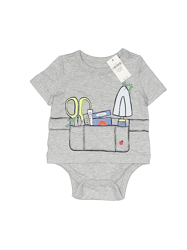 Baby Gap Boys Short Sleeve Onesie Size 0-3 mo