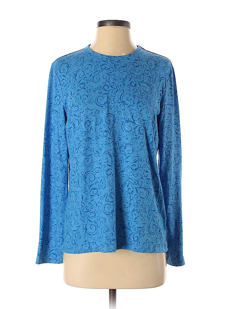 Orvis Women Long Sleeve T-Shirt Size S