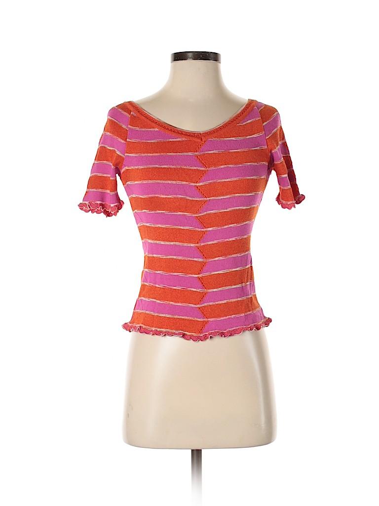 M Missoni Women Short Sleeve Top Size 40 (EU)