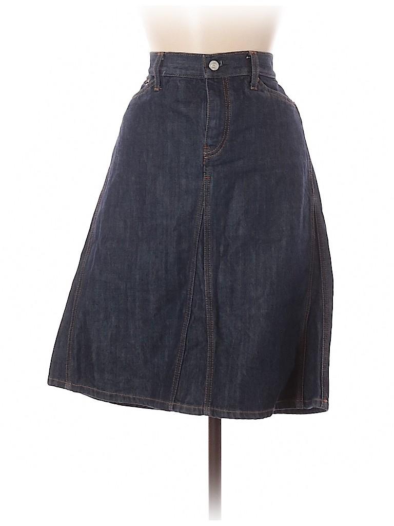 Gap Women Denim Skirt Size 8