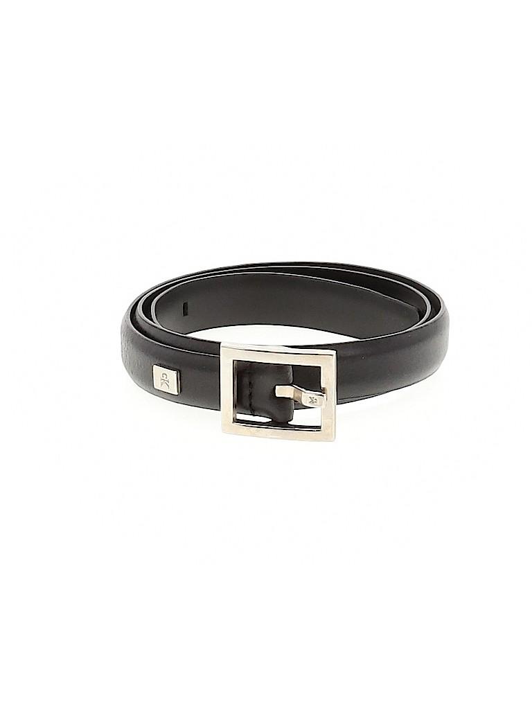 Calvin Klein Women Leather Belt Size M
