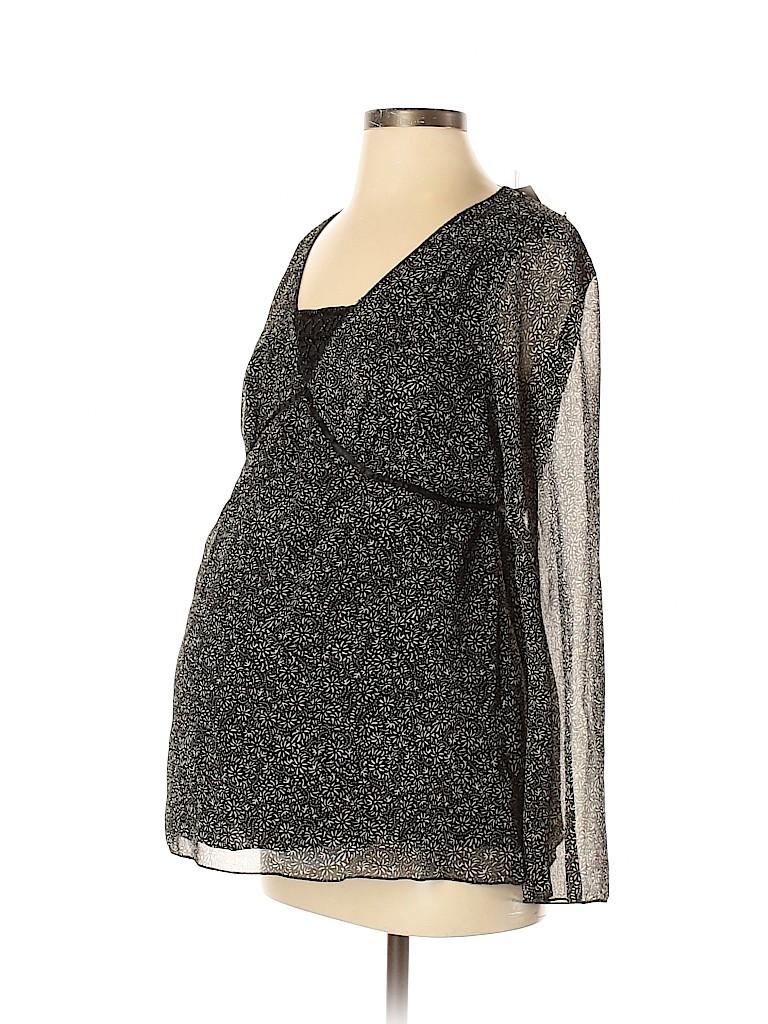 Motherhood Women Long Sleeve Blouse Size S (Maternity)