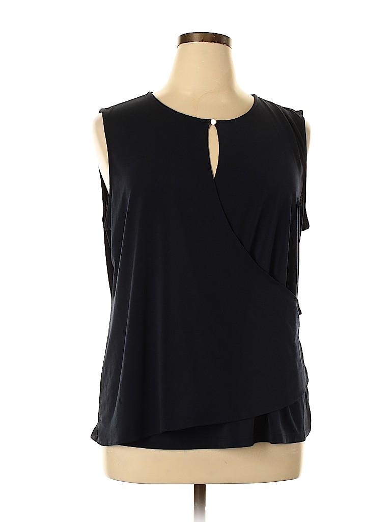 Ellen Tracy Women Sleeveless Top Size XL