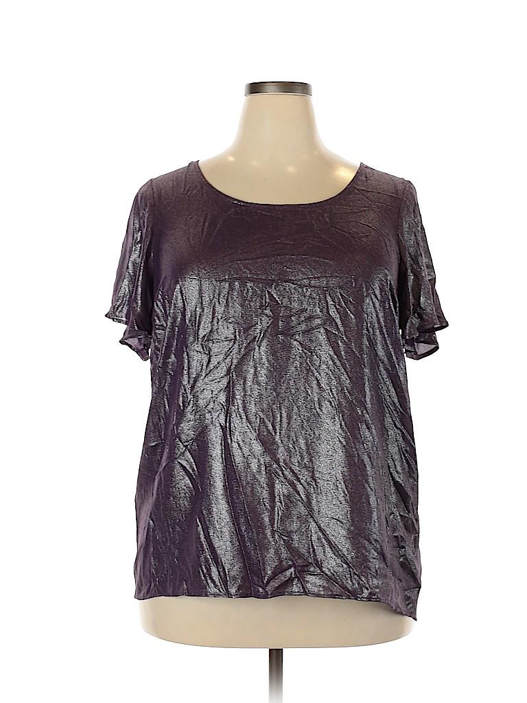 Torrid Women Short Sleeve Blouse Size 1X Plus (1) (Plus)