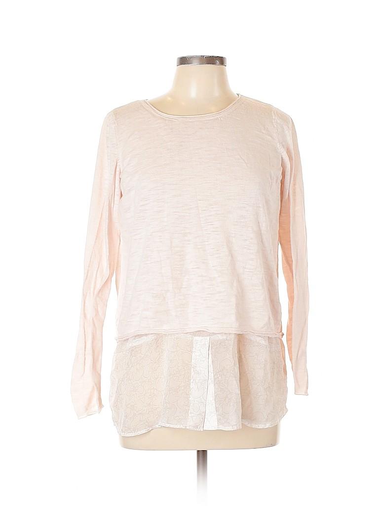 Lila Rose Women Long Sleeve Top Size L