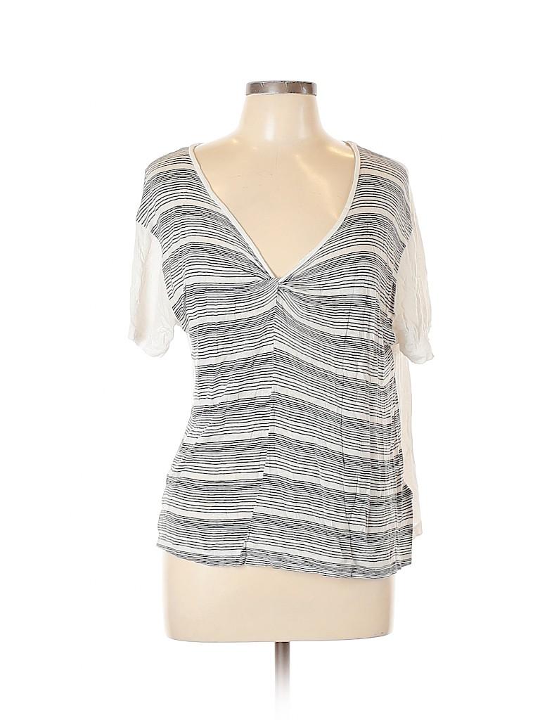 ALLSAINTS Women Short Sleeve Top Size L