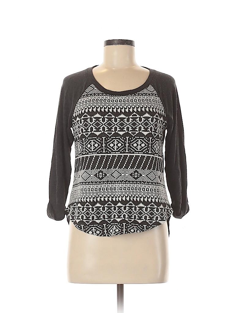 Eyeshadow Women Pullover Sweater Size M