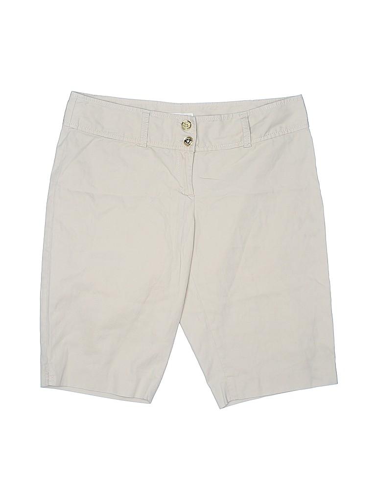 MICHAEL Michael Kors Women Khaki Shorts Size 10